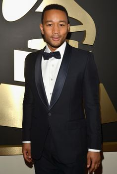 Best R&B Album nominee John Legend arrivesat the 56th Annual GRAMMY Awards on Jan. 26 in Los Angeles