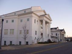 First United Methodist Church ~ Opelika, Alabama methodist church