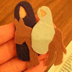 nativity story crafts