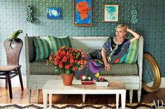 Cindy Sherman's Eclectic Hamptons Farmhouse