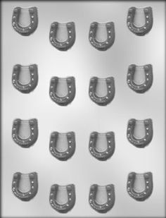 Amazon.com: CK Products 1-1/8-Inch Horseshoe Chocolate Mold: Kitchen & Dining