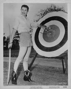 Esther Williams Leggy Archery