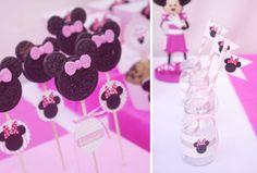 Minnie Mouse Birthday Party Planning via Kara's Party Ideas - www.KarasPartyIdeas.com #minnie #mouse #party #ideas