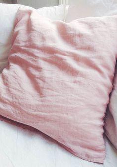 Soft linen pillow case 65 x 65cm