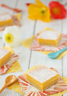 Passion Fruit Bars -- I heart Passion Fruit!!!!