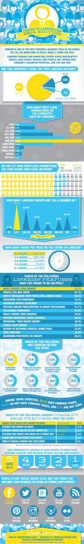 Retrato de un usuario de LinkedIn #infografía #infographic #socialmedia