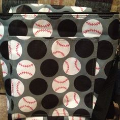 Thirty one bag and a red sharpie... Ready for the ball game now! such a cute idea!!!