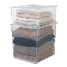 The Container Store > Our Sweater Boxes