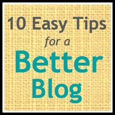 Making Lemonade: 10 Easy Tips For A Better Blog Right Now