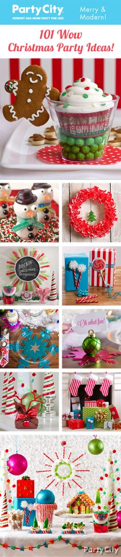 Get your jolly on with 100+ Christmas party ideas! Choose from a sleighful of too-cool Christmas DIYs, treats, tablescapes, wreaths and more that are *snow* much fun!