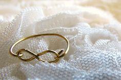 DIY infinity ring