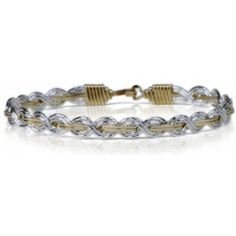 A beautiful bracelet with many ups and downs, twists and turns.  Ronaldo says it is not how many times you are down, but how many times you face adversity and get back up.  Let It Shine is one of Ronaldo's favorite bracelets, because behind every dark cloud right around the corner is a silver lining.