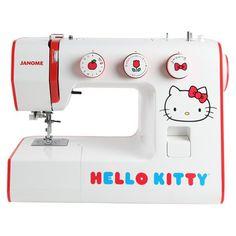 Hello Kitty Sewing Machine - sew cute!
