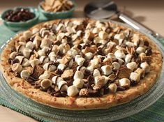 1. S'mores Pizza | 19 S'mores Recipes That Will Change Your Life