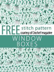 Window Box Stitch - Teresa Restegui http://www.pinterest.com/teretegui/ ✔