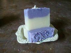Lavender Handmade Soap. $6.00, via Etsy.