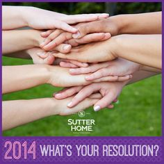 This year, make a resolution that makes a difference. Find something you're passionate about and make a change!