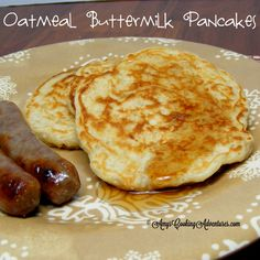 Amy's Cooking Adventures: Oatmeal Buttermilk Pancakes