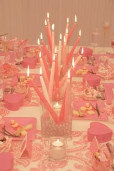 #Candles #Pink