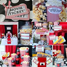 Movie Printable Party Package