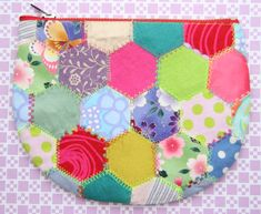 Hexagon patchwork