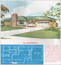 1962 Sterling Homes - The  Bloomfield