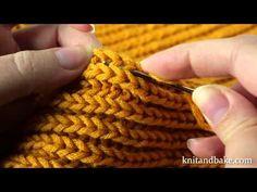 Knitandbake.com Video Tutorial for Cowl Sweater Shrug Wrap Pattern - Free Knitting Pattern. Written pattern online here: http://www.knitandbake.com/2012/12/27/cowl-sweater-shrug-wrap-free-knitting-pattern-by-knitandbake-com/