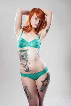 #tattoo #ink #girl #sexy