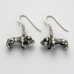 Bulldog Earrings at theBIGzoo.com, an animal-themed superstore.