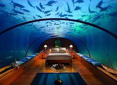 Undersea Hotel - Hilton Maldives Resort