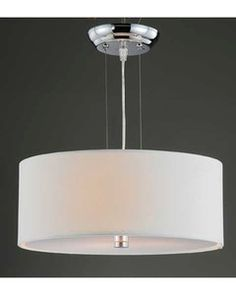 Drum chandelier for laundry room