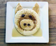 Fun Breakfast Recipes for Kids - Pig Pancakes