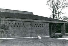Original building of the Warren-Newport Public Library on O'Plaine Road.    Warren-Newport Library celebrates 40 years - PhotoGallery - Lake County News-Sun