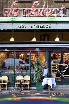 Le Select in Paris - ASPEN CREEK TRAVEL - karen@aspencreektravel.com