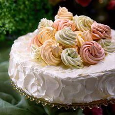 Delightful Spring Desserts | Cinderella Fantasy Cake | SouthernLiving.com