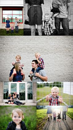 Adorable family portraits!