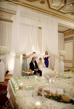 Amazing traditional Persian ceremony. The Fairmont Hotel Vancouver.