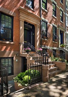 Brooklyn Heights Greek Revival. Renovation by CWB Architects.