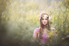 May Queen by Emily Soto, via Behance