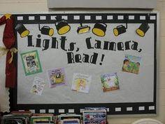 Lights, Camera, Read Bulletin Board