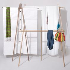 clothing racks, diseño, bhome, berlin, hang, furniture, cloison, design, bedroom