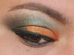351/365 Days of Makeup 3.0: Pumpkin and Duochrome Green - Sweet Libertine's Thai Silk pumpkin