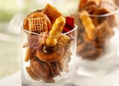 Bluegrass Chex Mix - bourbon, bacon, and pecans