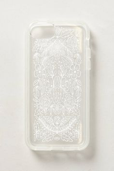 hmmm. Etched Glass iPhone 5C Case - anthropologie.com