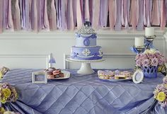 Sofia the First Inspired Princess Party with SO MANY REALLY CUTE IDEAS via Kara's Party Ideas | Cake, decor, cupcakes, favors, printables, and MORE! #sofiathefirst #princessparty #partydecor #partyideas #partystyling #eventplanning #partydesign (3)