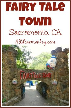 Places to Visit with Kids in California: Fairy Tale Town