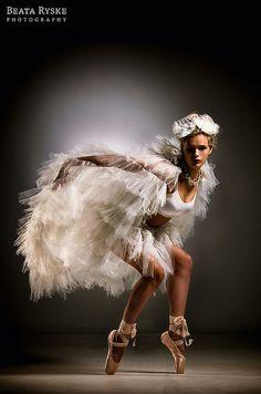 White Swan by ryskowa, via Flickr