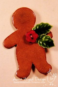 Cinnamon Applesauce Ornaments... with a twist!