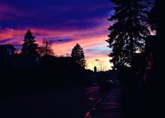 Sunset this week.