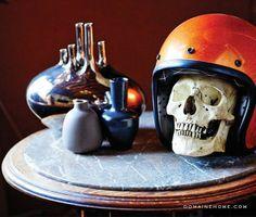 Table decorations // #skulls